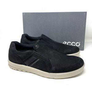 ECCO Ennio Slip On Suede Men's Sneakers Black
